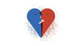 Le français, langue de l'amour