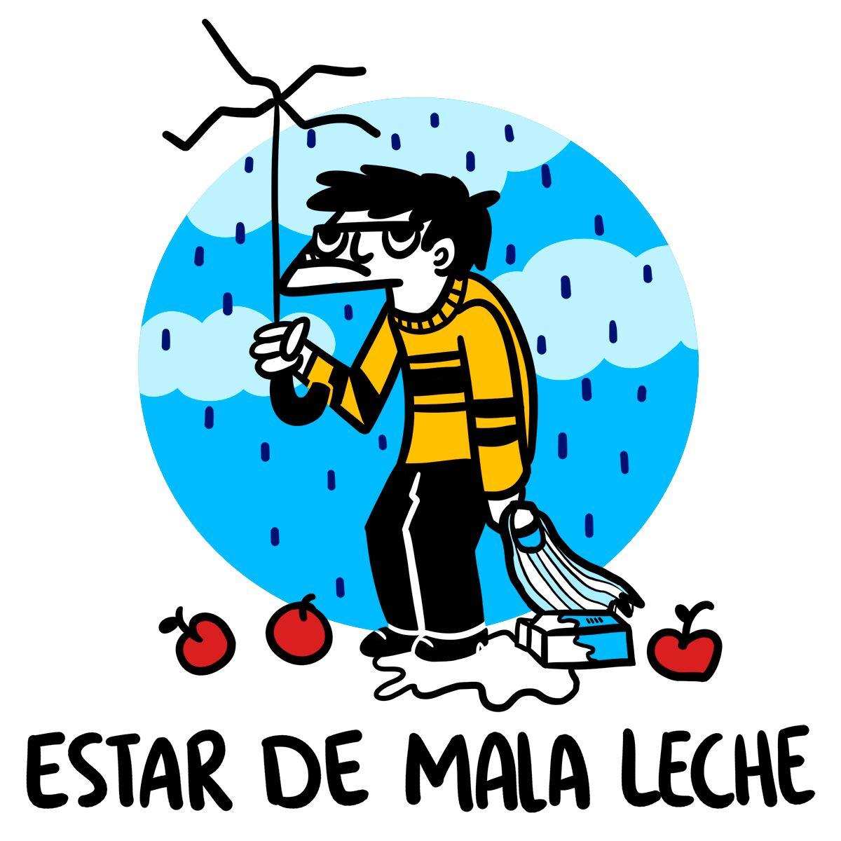 palavras engraçadas em espanhol mala leche