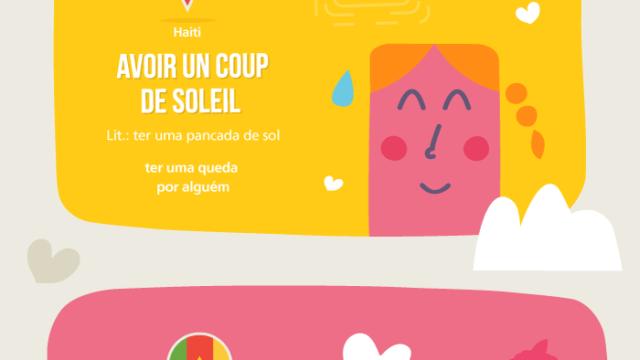 Palavras românticas em francês