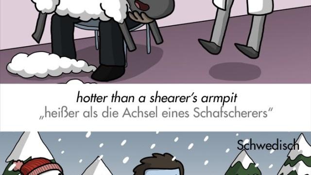 """""""Es regnet Taschenmesser!"""" – bunte Redewendungen zum Thema Wetter aus aller Welt"""