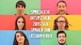 Worin unterscheiden sich europäisches und lateinamerikanisches Spanisch?