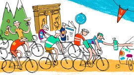 7 expressions pour suivre au mieux les étapes du tour de France