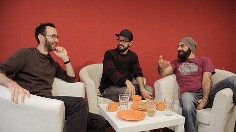 Kan tre helt vanliga killar lära sig franska på en vecka?