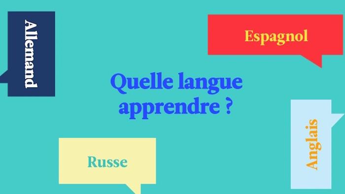 Quelle langue apprendre ?