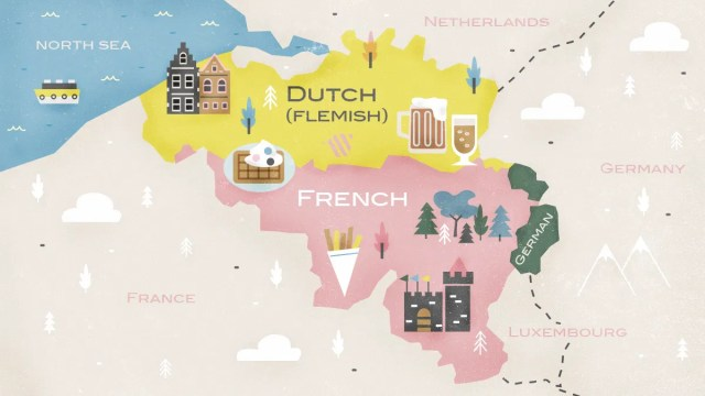 Which Languages Are Spoken In Belgium?