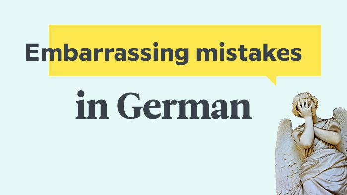 Embarrassing Auf Deutsch