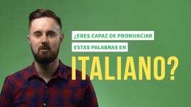 ¡7 palabras en italiano imposibles de pronunciar si no eres italiano!