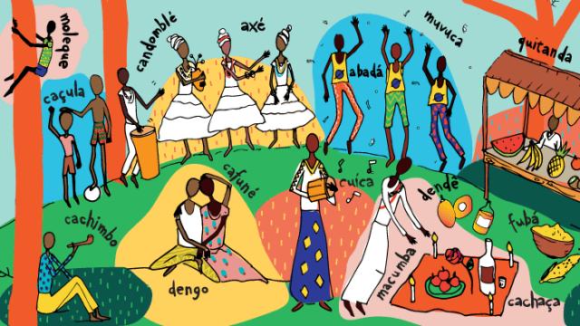 15 palavras de origem africana que fazem parte do dia a dia brasileiro