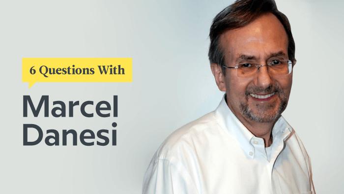 6 Questions With Emoji Scholar Marcel Danesi