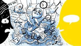 5 Ursachen für Stress – und wie dir Sprachenlernen beim Entspannen hilft