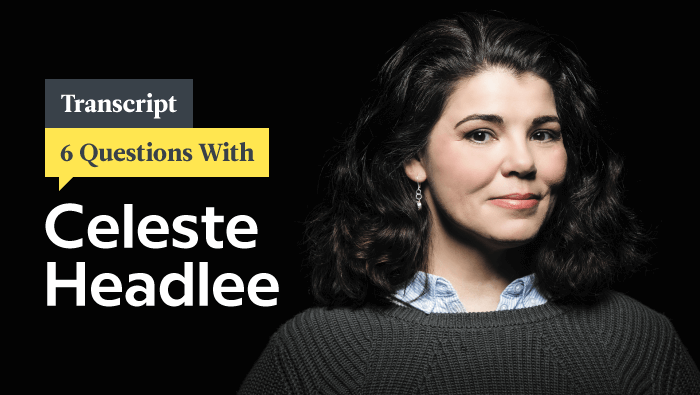 6 Questions With Master Conversationalist Celeste Headlee: Transcript