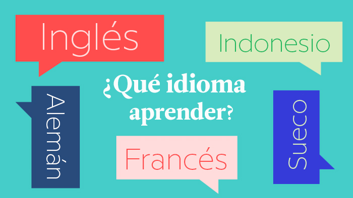 ¿Qué idioma deberías aprender?… si no te gusta el inglés
