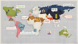 Le 10 lingue più parlate al mondo