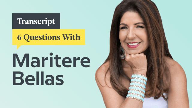 6 Questions With Bilingual Parenting Expert Maritere Bellas: Transcript