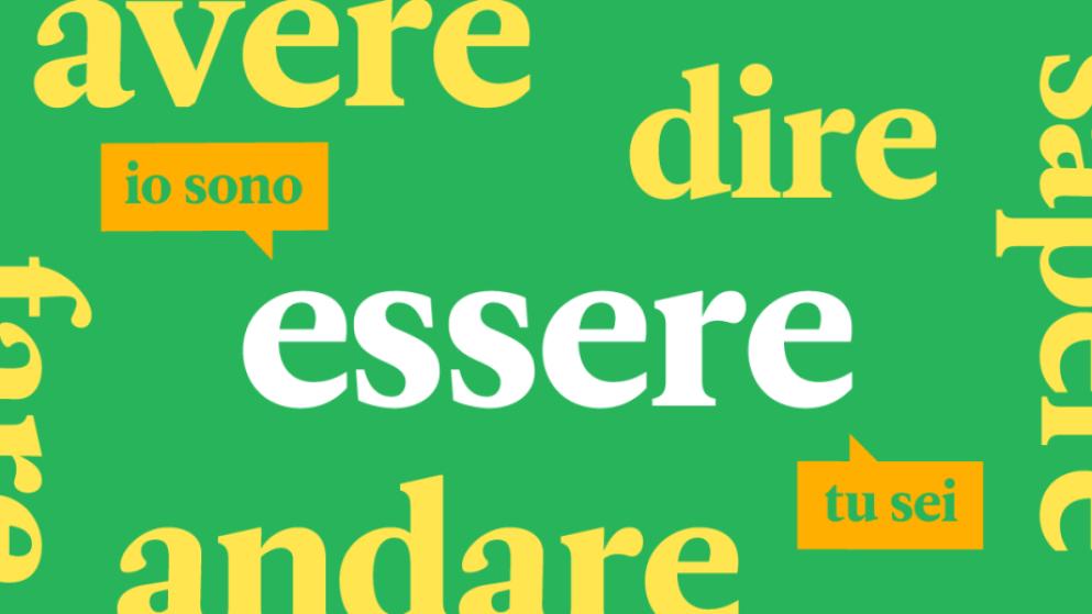 Los 20 verbos en italiano más comunes