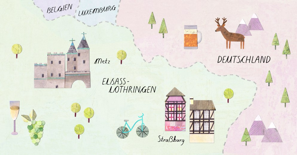 Welche Sprachen werden in Elsass-Lothringen gesprochen?