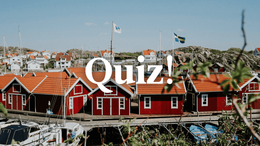 Quiz: How Much Do You Know About Swedish?