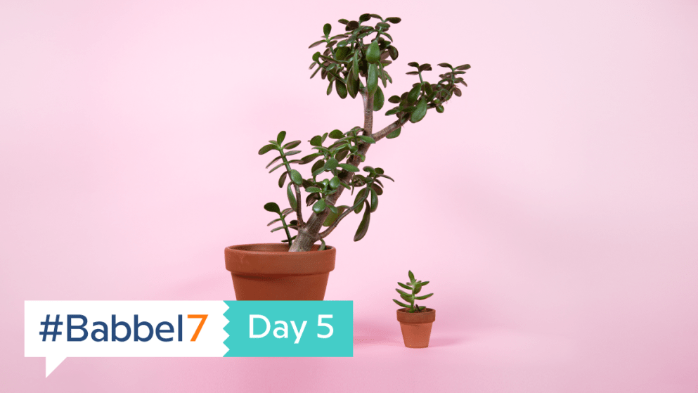 Babbel7 Day 5: Easy As 1, 2…