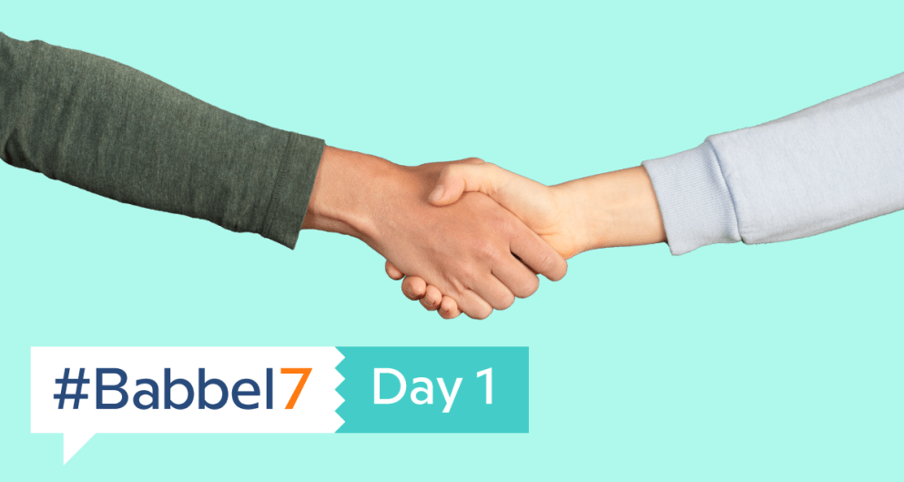 Babbel7 Day 1: Introduce Yourself