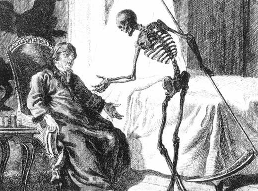 Cultures Imagine Death — Grim Reaper