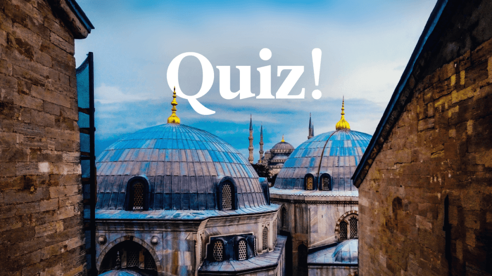 Quiz: How Much Do You Know About Turkish?