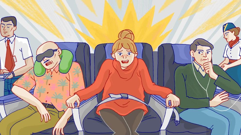 Paura di volare: ecco come imparare le lingue può aiutarvi a viaggiare con più serenità