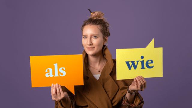 """Gramática alemana: """"als"""" y """"wie"""" ¿qué usar cuándo?"""