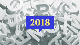 2018 Words Of The Year From Around The World