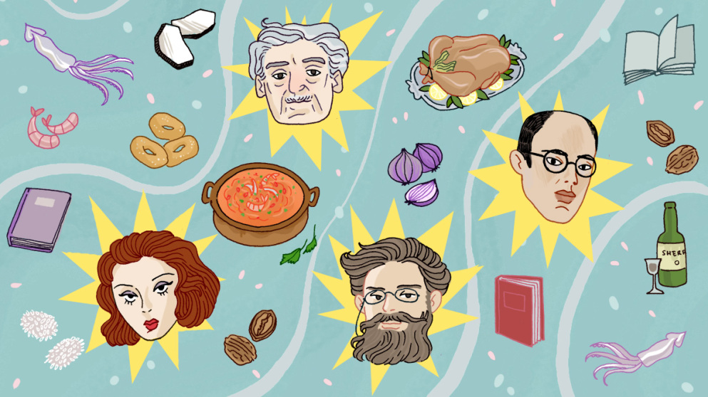 As receitas brasileiras encontradas nos romances