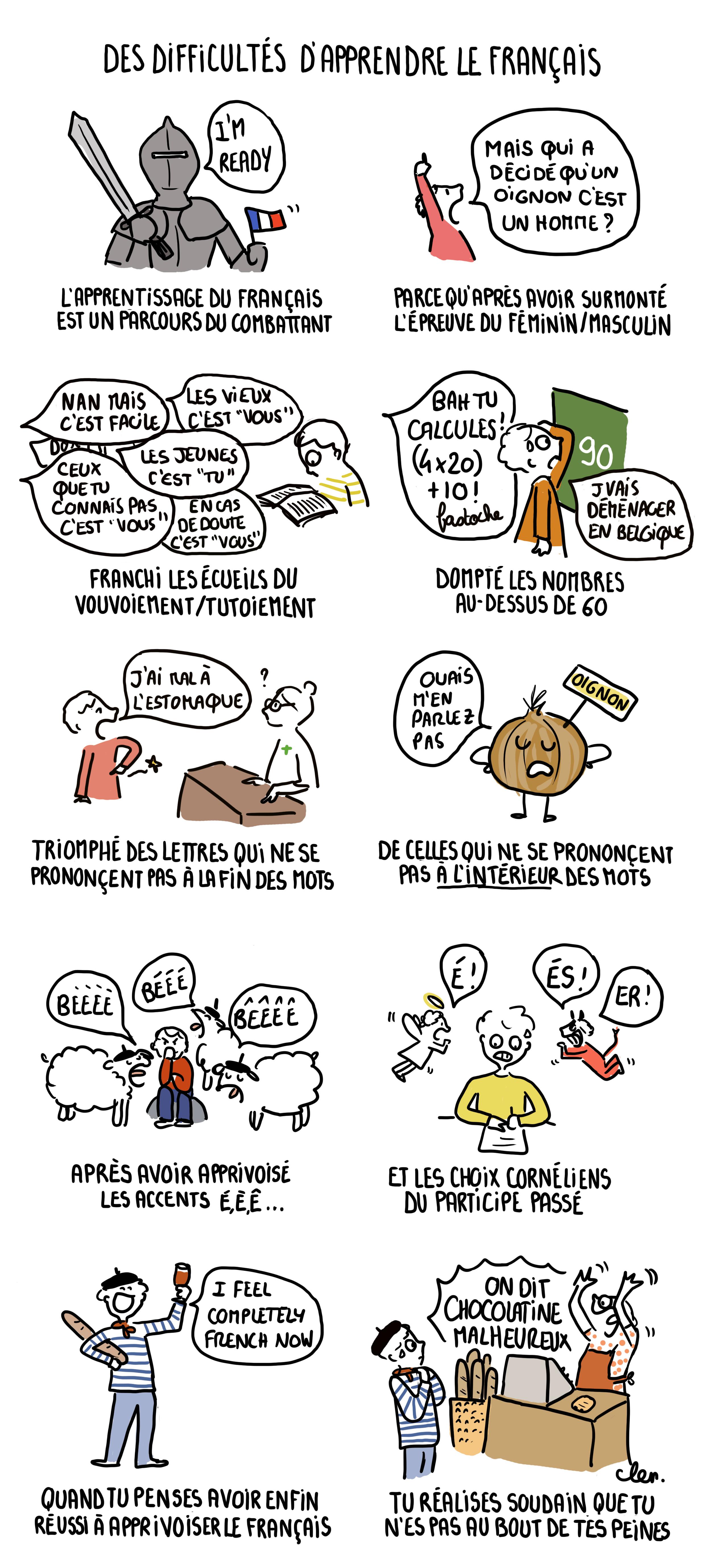 Voici pourquoi tout le monde considère que le français est une langue difficile