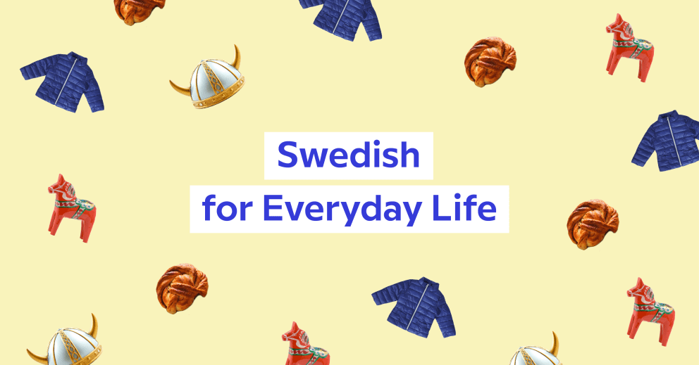 The favorite courses of Babbel's language learning experts – Swedish for Everyday Life, presented by Elin