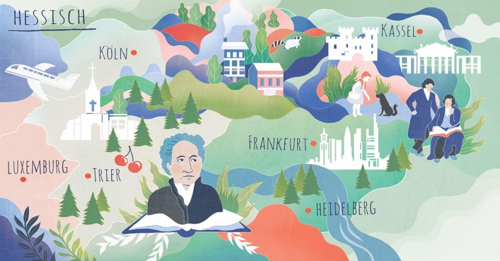 Hessisch – ist Goethes Heimatdialekt eine ausgestorbene Mundart?