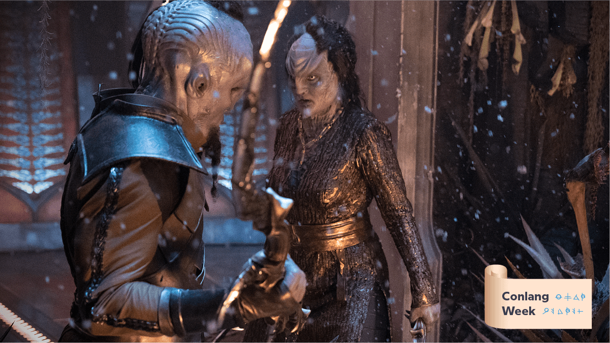 Breaking Down Klingon Into Human Languages