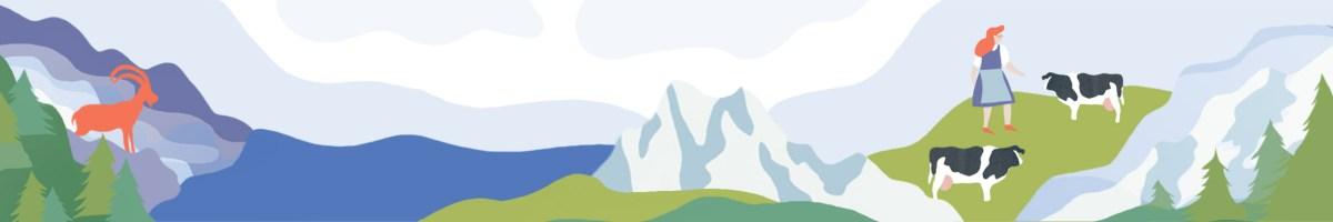 Bairische Landschaftsidylle
