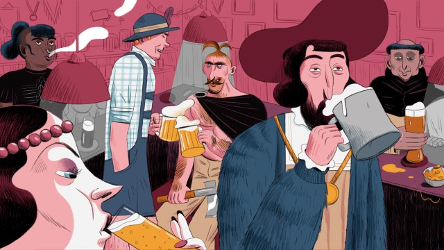 La importancia de la cerveza en la cultura germana y Rumpelstilzchen