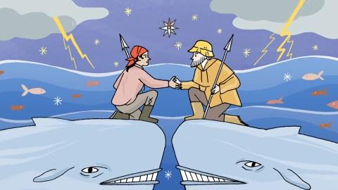 Il giro del mondo dei pidgin: Il basco-islandese