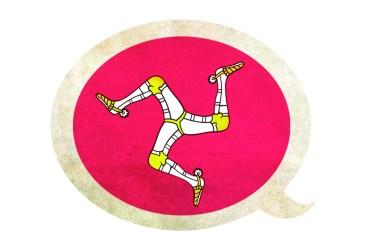 Le drapeau de l'île de Mann est aussi l'emblême des mannois