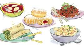 Die polnische Küche: Vorspeise, Hauptgericht und Nachtisch