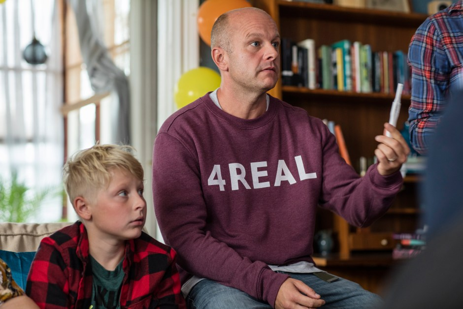 Swedish TV Shows: Still From Bonus Famuly