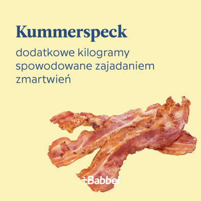 kummerspeck co to znaczy
