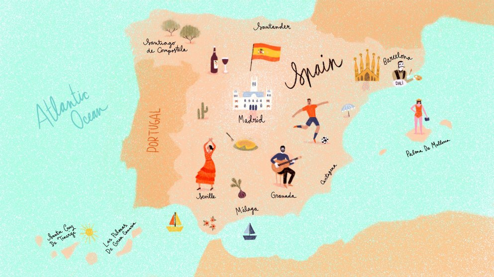 Lernen nach Plan–so lernst du Spanisch für deinen Urlaub