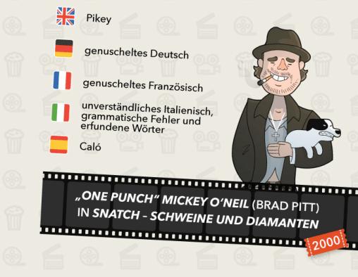 Filmakzente und -dialekte - Snatch