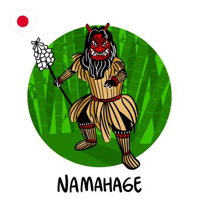 Namahage - der japanische Butzemann