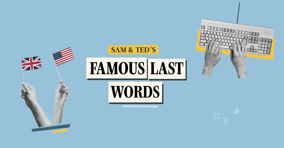 Unser neuer Babbel-Podcast: Famous Last Words
