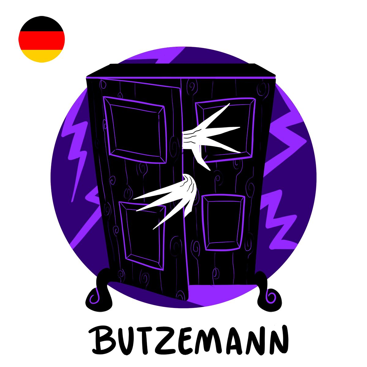 En Allemagne, la simple évocation du Butzemann suffit à effrayer grands et petits