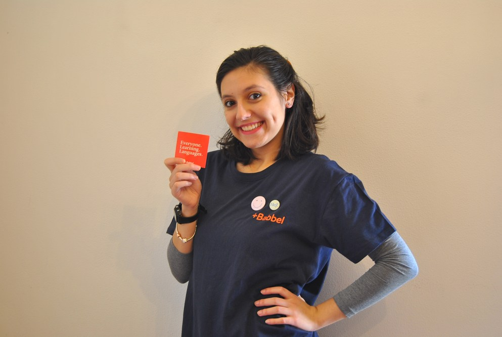 Intervista a Francesca, la vincitrice della Borsa di studio Babbel 2019
