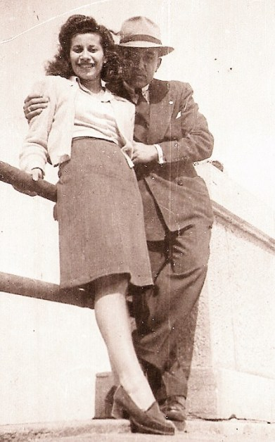 emilia and husband war brides