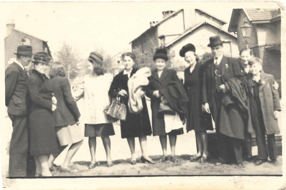 Alice and family in Belgium