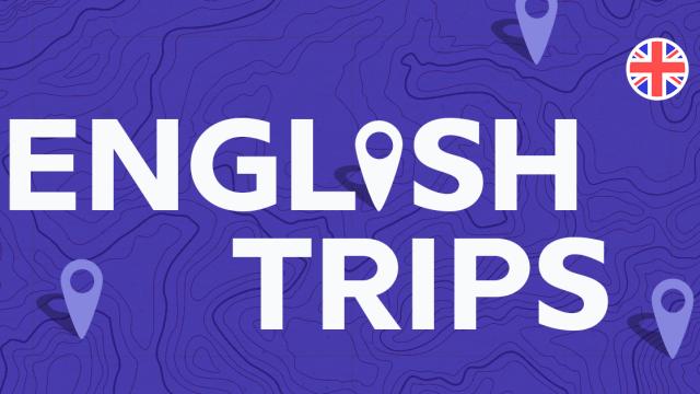 """Venha viajar pelo mundo anglófono com nosso mais novo podcast,""""English Trips"""""""
