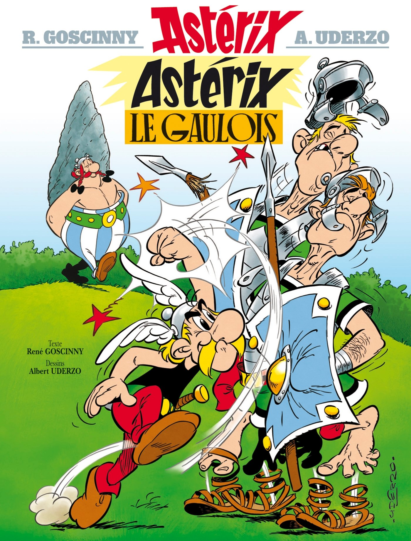 Astérix le gaulois - one of the top 10 translated books in the world